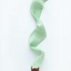 jedwabna wstazka pistacjowa